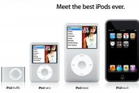 Jenis-jenis iPod
