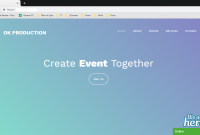 OK Production Web Company Profile